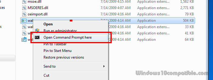 Open Command Prompt Here 2 5 Free download